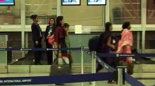 Indian nurses, Mumbai Airport