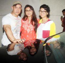Aamir Khan, Rani Mukerji, Kiran Rao