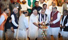 Narendra Modi, Amit Shah, LK Advani, Rajnath Singh
