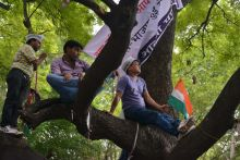 AAP supporters, Jantar Mantar