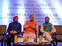 Arun Jaitley and Prakash Javadekar