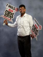 MP Dushyant Chautala at India Today Mind Rocks Youth Summit 2014 in Chandigarh.