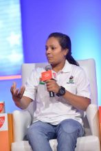 India's first amputee to climb Mount Everest Arunima Sinha.