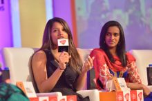 India Today Woman Summit 2014, PV Sindhu, Dipika Pallikal