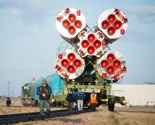 Russia prepares for Soyuz launch