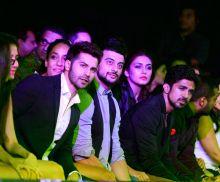 Varun Dhawan, Lisa Haydon, Arunodaya Singh, Huma Qureshi and Saqib Saleem