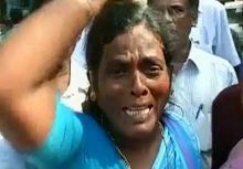 Jaya supporters protest
