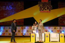 Mind Rocks Youth Summit 2014, Deepika Padukone, Arjun Kapoor