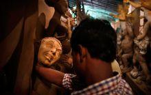 Durga Puja preparations