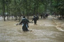 Flash floods in Kulgam