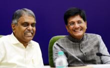 Piyush Goyal and Pradeep Kumar Sinha