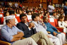 Mind Rocks Youth Summit 2014, Manish Sisodia, Rajyavardhan Singh Rathore, Haroon Yusuf, Satish Upadhyay