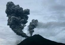 Mount Sinabung volcano