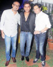 Abhinav Kashyap, Ravi Kishen and Mayank Singh