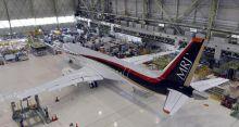 First Japan passenger jet