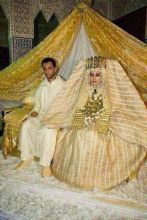 King Abdullah's daughter on her wedding