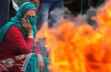 Kashmir protest for rehabilitation