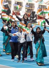 Indian athletes