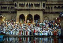Diwali celebration by Vrindavan widows