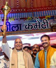 Dussehra celebrations bring Modi, Manmohan and Sonia on same dais