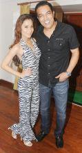 Sara Khan and Vindoo Dara Singh