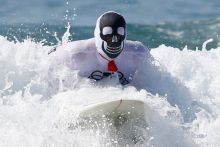 7th annual ZJ Boarding House Haunted Heats Halloween surf contest