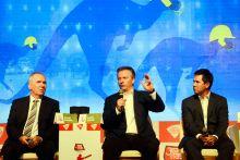 Allan Border, Steve Waugh and Ricky Ponting