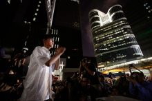 The 17-year-old leader of protesters in Hong Kong