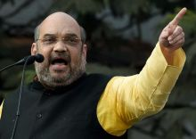 BJP president Amit Shah holds massive rally in Kolkata