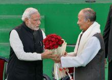 Prime Minister Narendra Modi at Manipur Sangai Festival