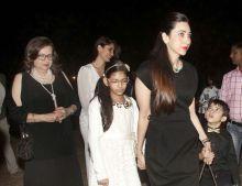Karisma Kapoor, Kareena Kapoor, Babita, Sameira Kapoor, Kiaan Raj Kapoor