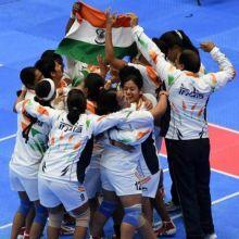 India's kabaddi team
