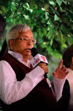 RJD chief Lalu Prasad Yadav at Agenda Aaj Tak 2014