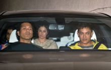 Sachin Tendulkar, Anjali Tendular, Aamir Khan