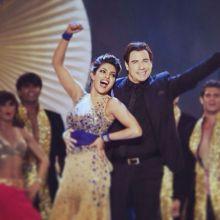 Priyanka Chopra, John Travolta