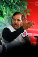 JDU chief Sharad Yadav at Agenda Aaj Tak 2014