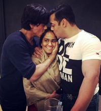 Salman Khan, Shah Rukh Khan, Arpita Khan