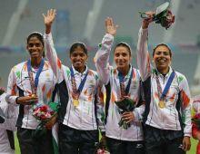 India's relay team