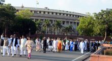 Protest march against Land Bill