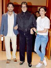 Irrfan, Amitabh Bachchan and Deepika Padukone