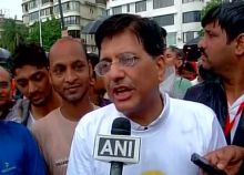Minister of State Independent charge for Power, Coal and Renewable Energy Piyush Goyal