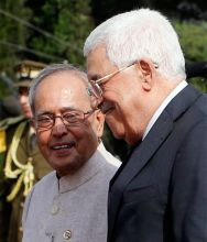 Pranab Mukherjee visits Israel and Palestine