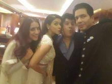 (L-R) Ashvini Yardi, Asin, Sajid Khan and Rahul Sharma
