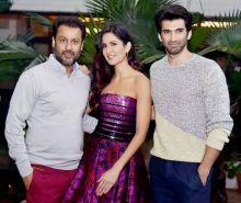 (L-R) Abhishek Kapoor, Katrina Kaif and Aditya Roy Kapur