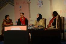 Day 4 at the Jaipur Lit Fest on Sunday, January 24