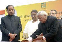 Jharkhand CM Raghubar Das & Governor Draupadi Murmu