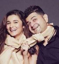Alia Bhatt and Dabboo Ratnani