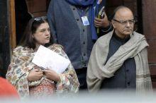 Arun Jaitley and Maneka Gandhi