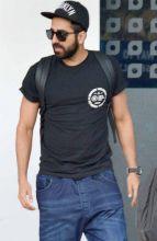 Ayushmann Khurrana at Mumbai Airport