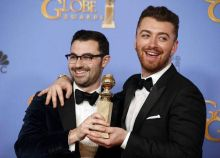 Sam Smith (R) and Jimmy Napes